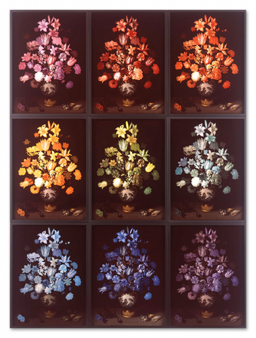 Rob and Nick Carter - RN899, Flowers in a Wan-Li Vase, 2013 · © Copyright 2018