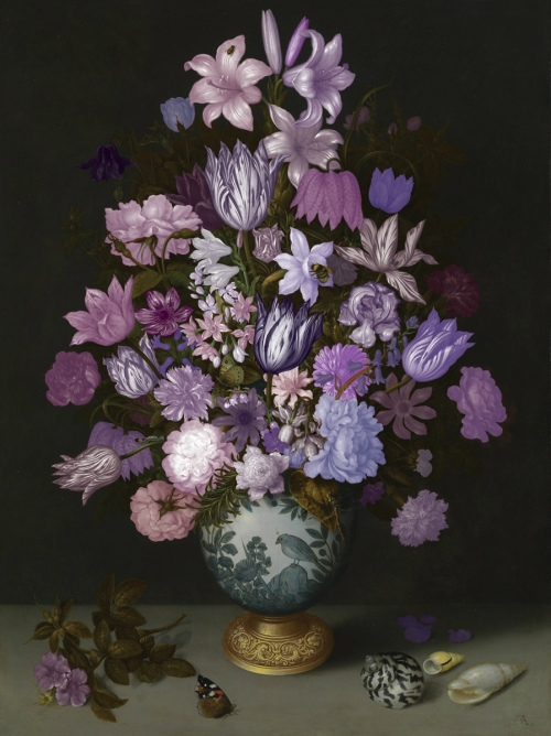 Rob and Nick Carter - RN899, Flowers in a Wan-Li Vase, 2013 · © Copyright 2017