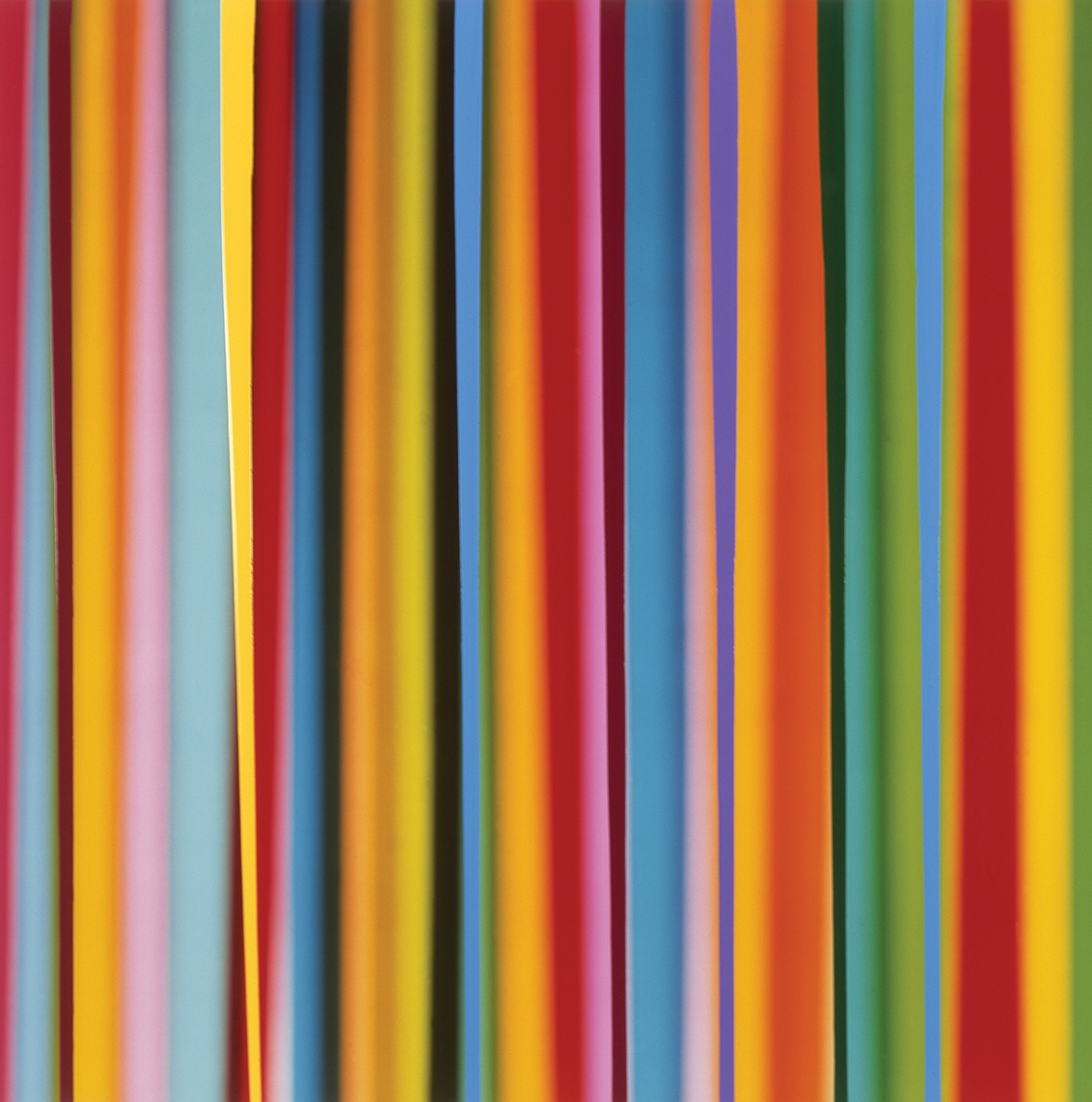 Rob and Nick Carter - RN352, Vertical Lines, Light and Paint, 2004 · © Copyright 2017