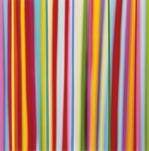 Rob and Nick Carter - RN123, Vertical Lines, Light and Paint, 2001 · © Copyright 2017