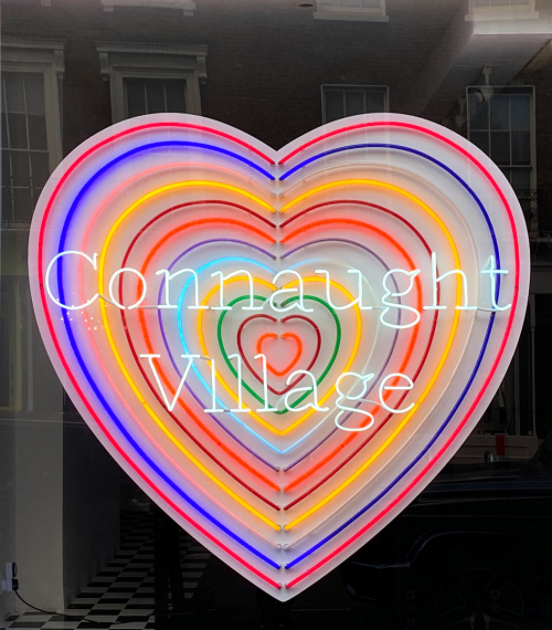 Rob and Nick Carter - RN1348, Love Heart Neon, 2020 · © Copyright 2021