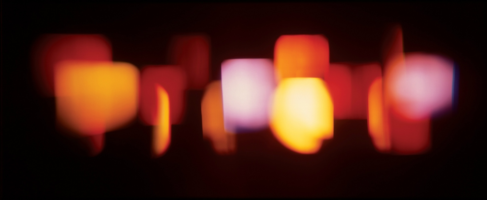 Rob and Nick Carter - RN609, Coloured Light Projections, 2006 · © Copyright 2017