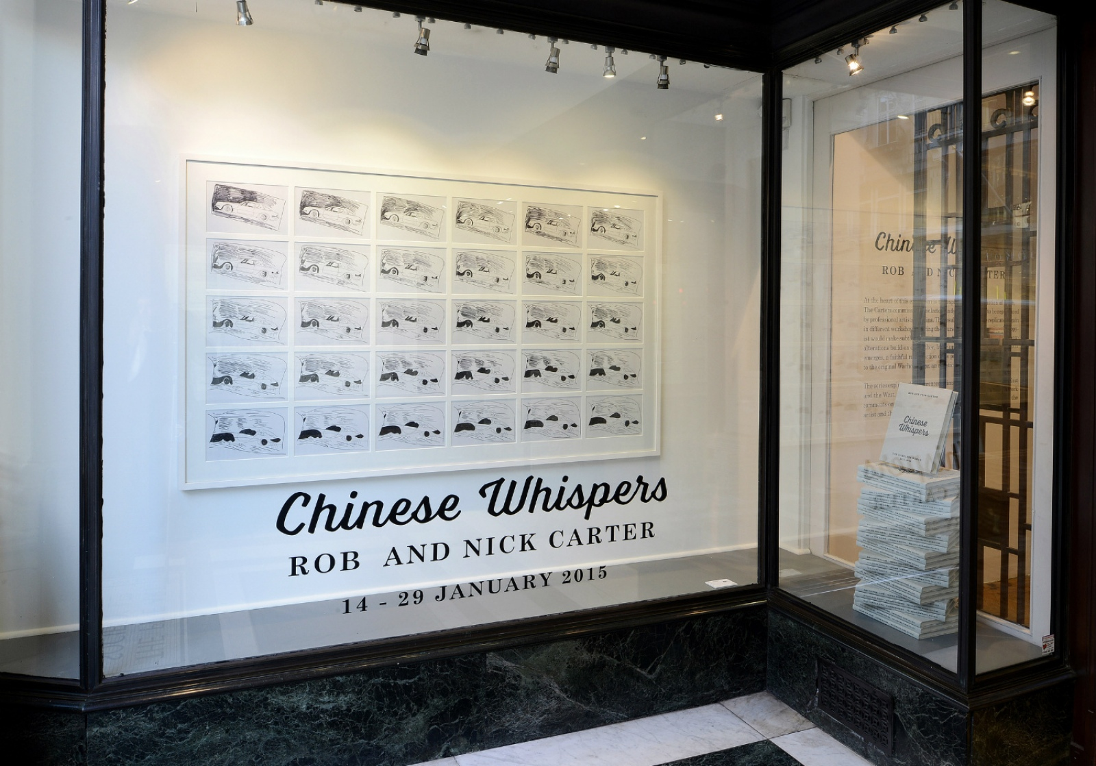 Rob and Nick Carter - Chinese Whispers, Fine Art Society Contemporary · © Copyright 2018