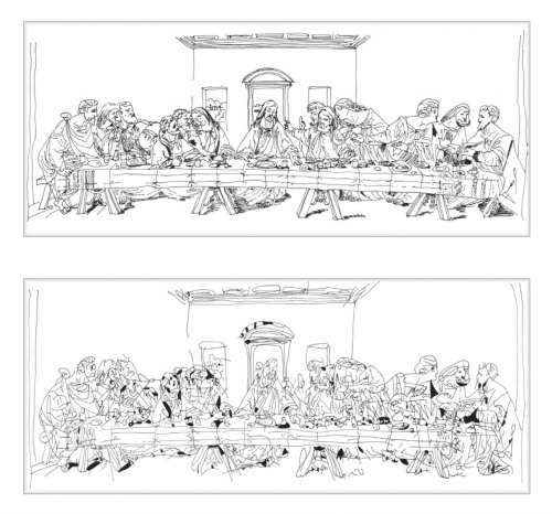 Rob and Nick Carter - RN998, Chinese Whispers, The Last Supper after Andy Warhol (1986), 2014 · © Copyright 2017