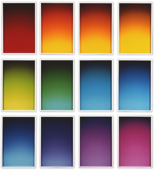 Rob and Nick Carter - RN655, 12 Luminograms, 2007 · © Copyright 2018