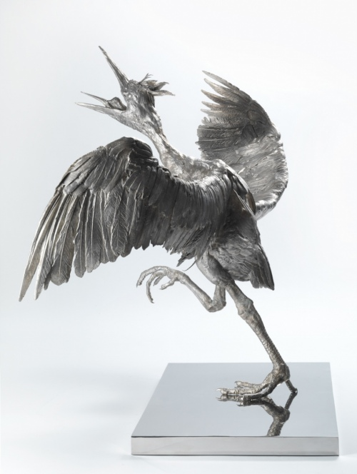 Rob and Nick Carter - RN1014, Bronze Heron, 2016 · © Copyright 2018