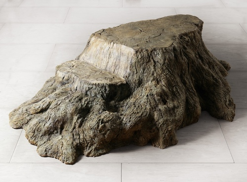 Rob and Nick Carter - RN1025, Bronze Tree Stump, 2016 · © Copyright 2018