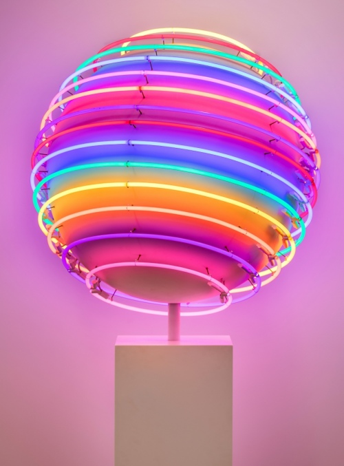 Rob and Nick Carter - RN1088, Neon World, 2016 · © Copyright 2018