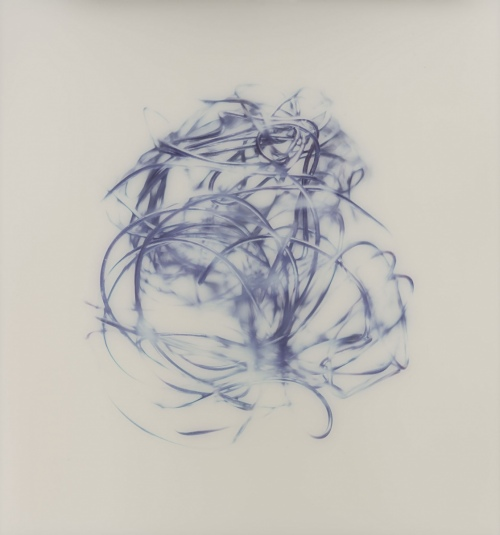 Rob and Nick Carter - RN1211, Silver Looping Traces I, 2018 · © Copyright 2020